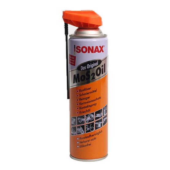 SONAX MoS2OiL น้ำมันอเนกประสงค์ Easy Spray หัวฉีดรอบทิศทาง 360 องศา
