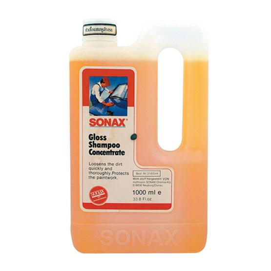 SONAX Gloss Shampoo Concentrate หัวเชื้อแชมพูล้างรถ 1,000 มล.