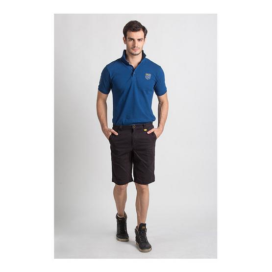 กางเกงขาสั้น สีน้ำตาล รุ่น ฟอกนิ่ม