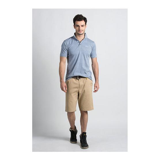 กางเกงขาสั้น สีเบจ รุ่น ฟอกนิ่ม