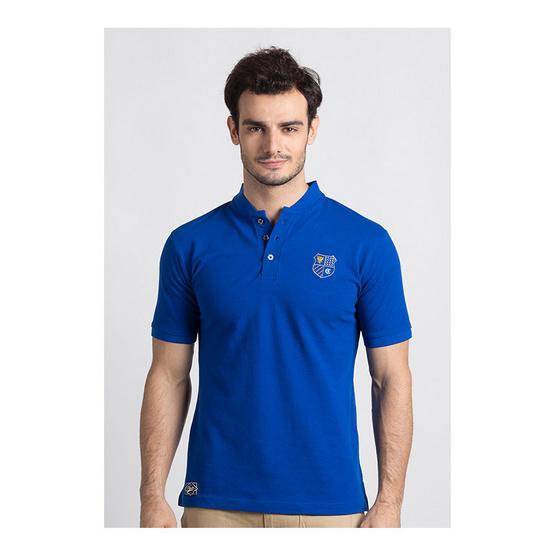 CLEAR เสื้อโปโล สีน้ำเงิน รุ่น คอจีน
