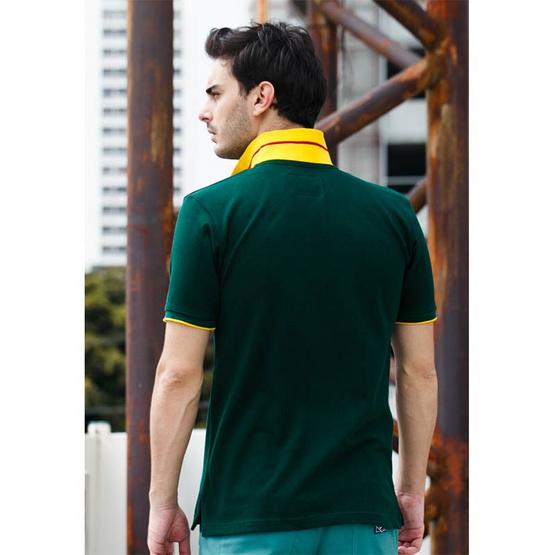 CLEAR เสื้อโปโล สีเขียว รุ่น ปก JG