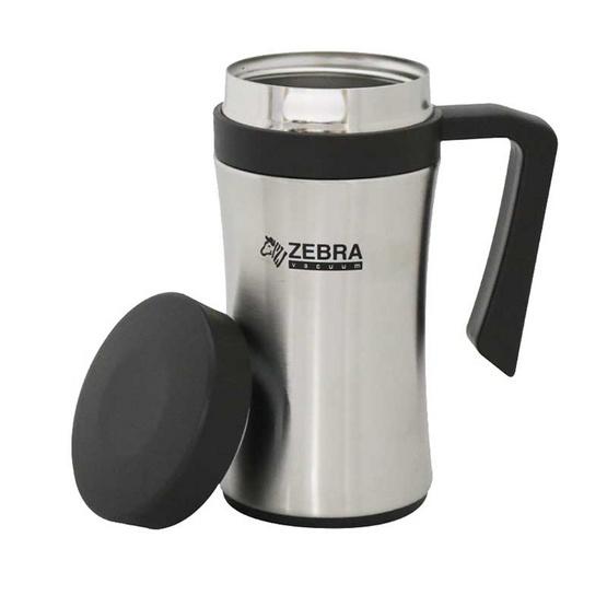 Zebra ถ้วยน้ำสูญญากาศ CURVEO 0.45 ลิตร สีน้ำตาล