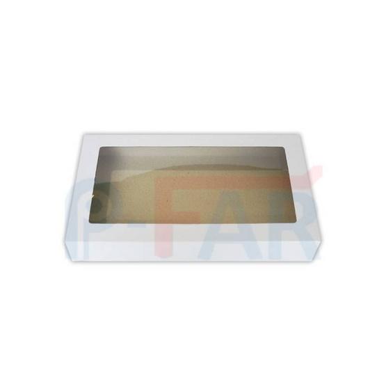 ตราสนคู่ กล่องเอนกประสงค์ No.1 สีขาว เจาะรู 10ชิ้น x 5แพ็ค (50ชิ้น)