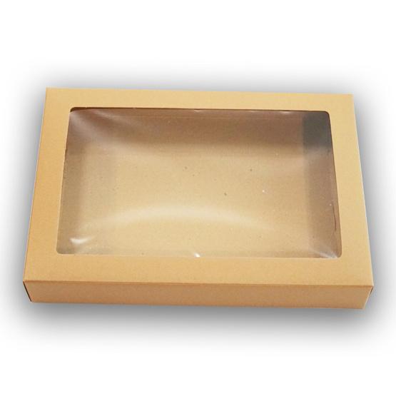 ตราสนคู่ กล่องเอนกประสงค์ No.1 สีวอลนัท เจาะรู 10ชิ้น x 5แพ็ค (50ชิ้น)