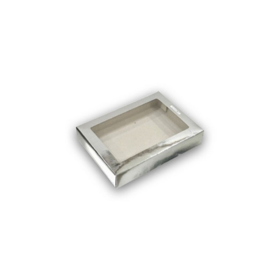 ตราสนคู่ กล่องเอนกประสงค์ No.2 สีเงิน เจาะรู 10ชิ้น x 5แพ็ค (50ชิ้น)