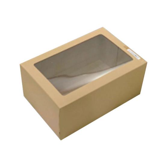 ตราสนคู่ กล่องเอนกประสงค์ No.5 สีวอลนัท เจาะรู 10ชิ้น x 5แพ็ค (50ชิ้น)