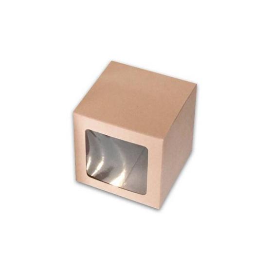 ตราสนคู่ กล่องเอนกประสงค์ No.9 สีวอลนัท เจาะรู 10ชิ้น x 5แพ็ค (50ชิ้น)