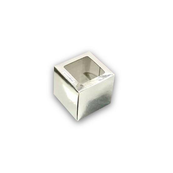 ตราสนคู่ กล่องเอนกประสงค์ No.Y2 สีเงิน เจาะรู 10ชิ้น x 5แพ็ค (50ชิ้น)