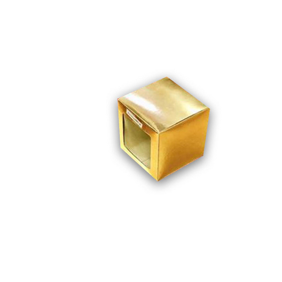 ตราสนคู่ กล่องเอนกประสงค์ No.Y2 สีบรอนซ์ทอง เจาะรู 10ชิ้น x 5แพ็ค (50ชิ้น)