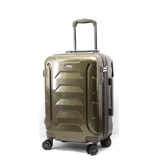 chartonTstudio กระเป๋าเดินทางล้อลาก ขนาด 20 นิ้ว 4ล้อหมุน360องศา ABS44503