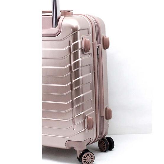 chartonTstudio กระเป๋าเดินทางล้อลากขนาด 24 นิ้ว 4ล้อหมุน360องศา ABS44503