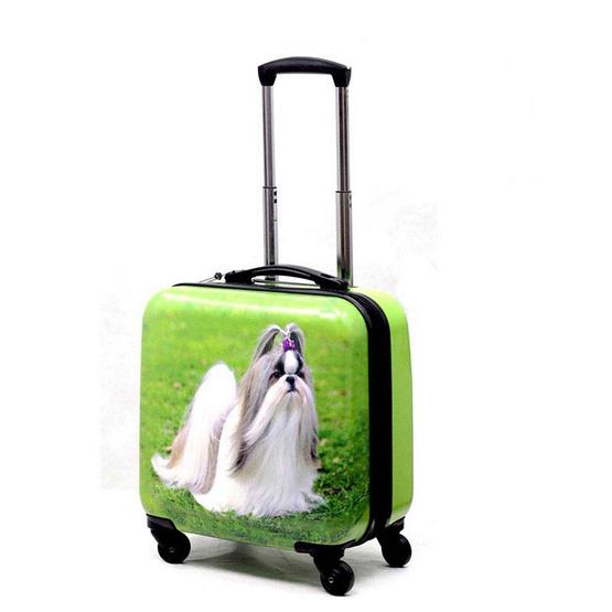 chartonกระเป๋าเดินทางล้อลาก 16 นิ้ว 44501ลายหมา