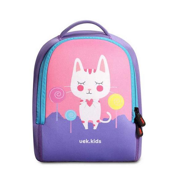 UEK กระเป๋าเป้คลาสสิค รุ่นแมว เบสตี้ สีชมพู S