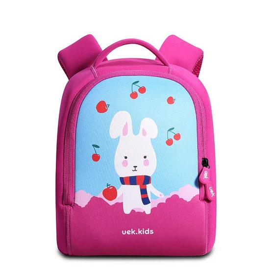 UEK กระเป๋าเป้คลาสสิค รุ่นกระต่ายแครอล สีม่วง S