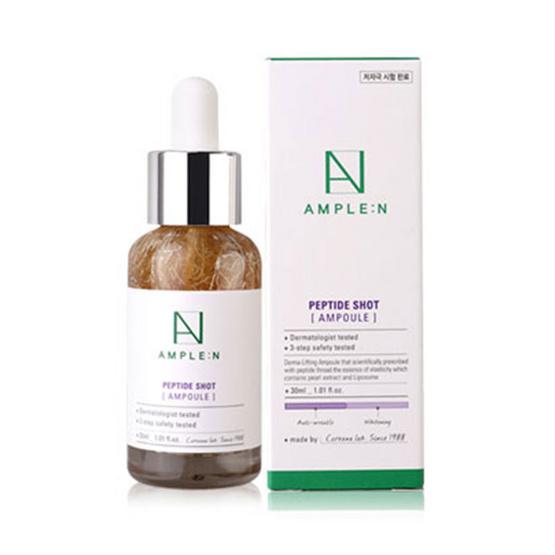 AMPLE:N Peptide Shot Ampoule 30 ml เซรั่มสูตรเปปไทด์