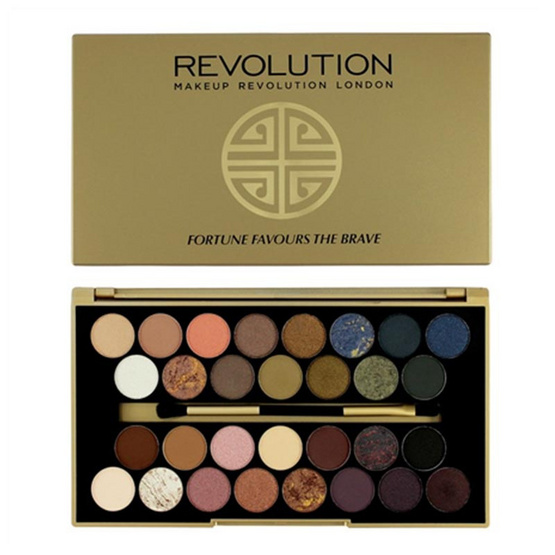 Makeup Revolution อายแชโดว์ Ultra 30 Shade Eyeshadow Palette Fortune Favours The Brave