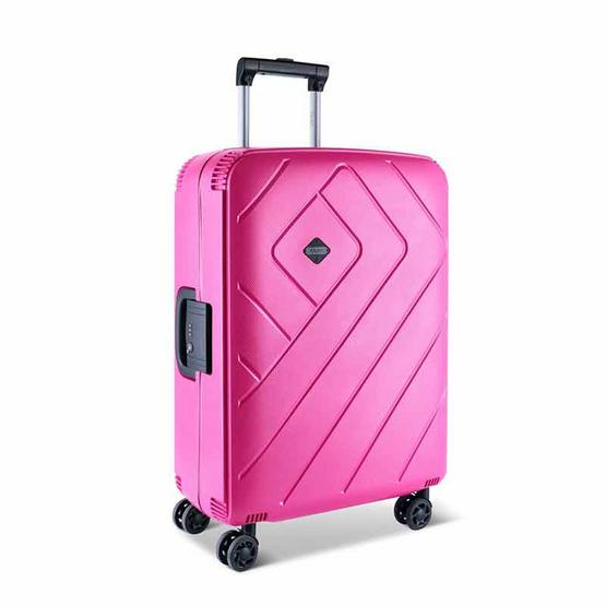 Rollica กระเป๋าเดินทาง ขนาด 20 นิ้ว รุ่น FRANKFURT สีชมพู