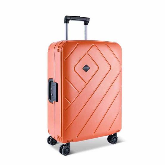 Rollica กระเป๋าเดินทาง ขนาด 24 นิ้ว รุ่น FRANKFURTสีส้ม
