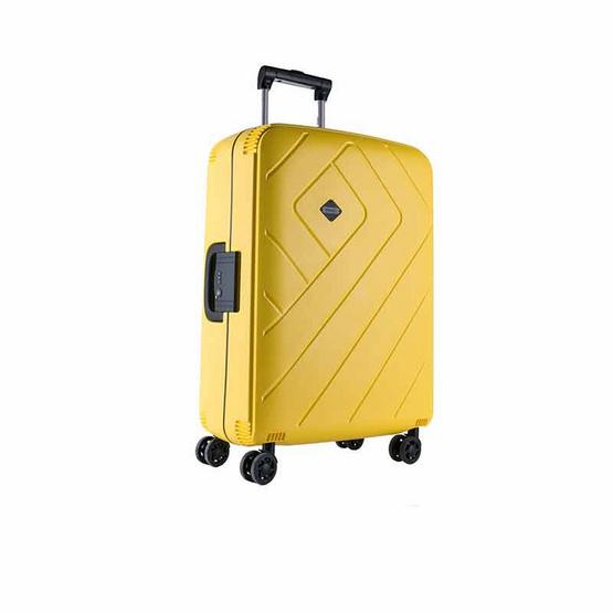 Rollica กระเป๋าเดินทาง ขนาด 24 นิ้ว รุ่น FRANKFURTสีเหลือง