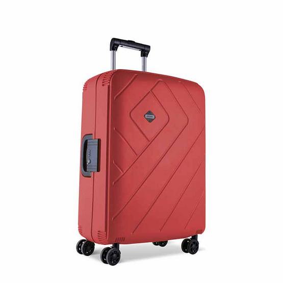 Rollica กระเป๋าเดินทาง ขนาด 24 นิ้ว รุ่น FRANKFURTสีแดง
