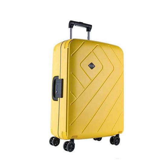 Rollica กระเป๋าเดินทาง ขนาด 28 นิ้ว รุ่น FRANKFURTเหลือง