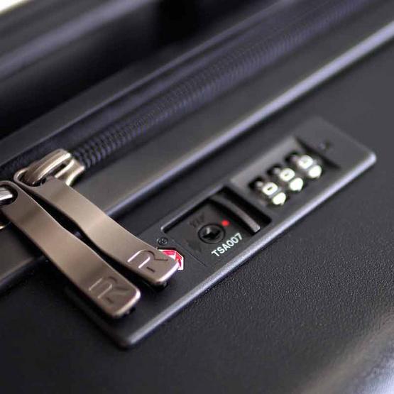 Rollica กระเป๋าเดินทาง ขนาด 20 นิ้ว รุ่น LINER SONARดำ