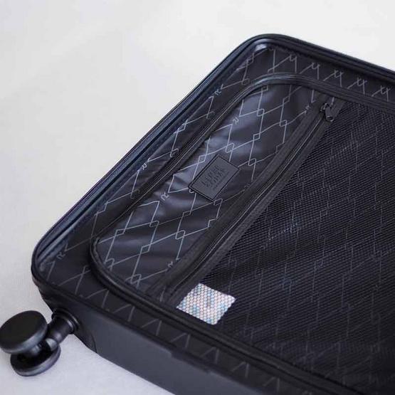 Rollica กระเป๋าเดินทาง ขนาด 28 นิ้ว รุ่น LINER SONARเทา