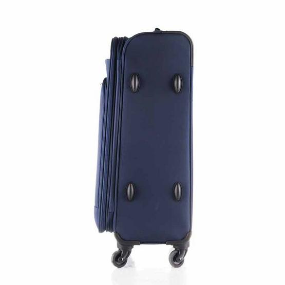 Rollica กระเป๋าเดินทางแบบผ้าไนล่อน ขนาด 24 นิ้ว รุ่น AIRY LITEน้ำเงิน