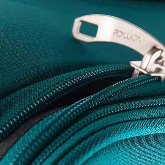 Rollica กระเป๋าเดินทางแบบผ้าไนล่อน ขนาด 28 นิ้ว รุ่น AIRY LITEเขียว