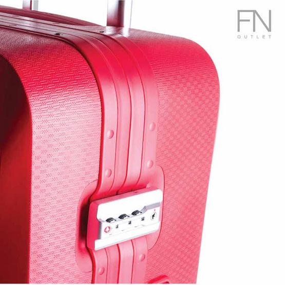 Rollica กระเป๋าเดินทาง ขนาด 20 นิ้ว รุ่น Neo แดง