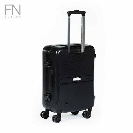 Rollica กระเป๋าเดินทาง ขนาด 20 นิ้ว รุ่น Neo ดำ