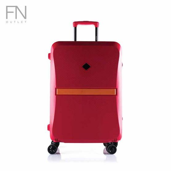 Rollica กระเป๋าเดินทาง ขนาด 24 นิ้ว รุ่น Neo แดง