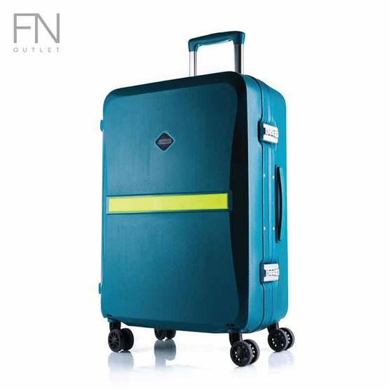 Rollica กระเป๋าเดินทาง ขนาด 24 นิ้ว รุ่น Neo เขียว