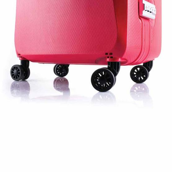 Rollica กระเป๋าเดินทาง ขนาด 28 นิ้ว รุ่น Neo แดง