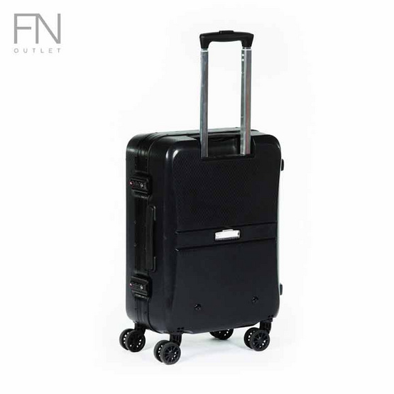 Rollica กระเป๋าเดินทาง ขนาด 28 นิ้ว รุ่น Neoดำ
