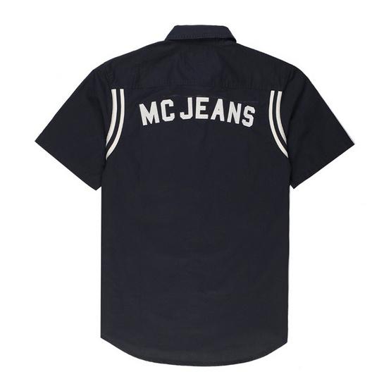 Mc Jeans เสื้อเชิ้ตผู้ชาย แขนสั้น รุ่น MSSZ029