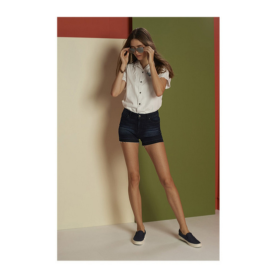 Mc Jeans เสื้อเชิ้ต แขนสั้น (Mc Resort collection) รุ่น MSSZ033
