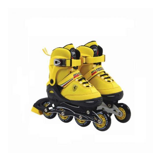 FERRARI รองเท้าสเก็ตเฟอร์รารี่ รุ่น FK16 อินไลน์สเก็ต สีเหลือง