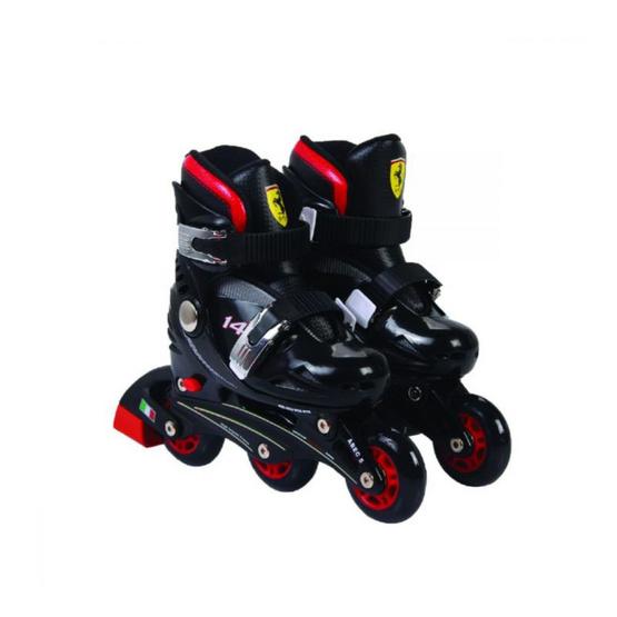 FERRARI รองเท้าสเก็ตเฟอร์รารี่ รุ่น FK7 เบสิคสเก็ต สีดำ