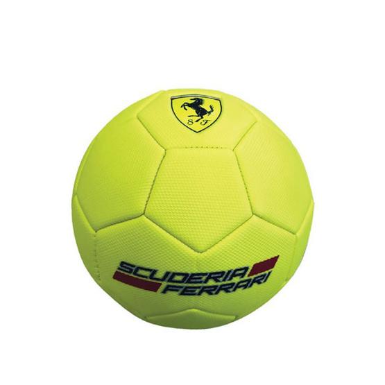 FERRARI ลูกฟุตบอลเฟอร์รารี่ รุ่น F666 เบอร์ 5 สีเหลือง