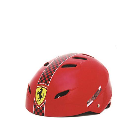 FERRARI เฟอร์รารี่ หมวกสเก็ต รุ่น FAH50 สีแดง