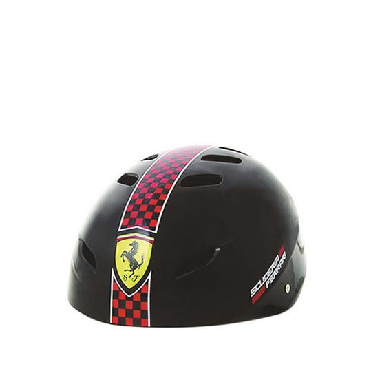 FERRARI เฟอร์รารี่ หมวกสเก็ต รุ่น FAH50 สีดำ