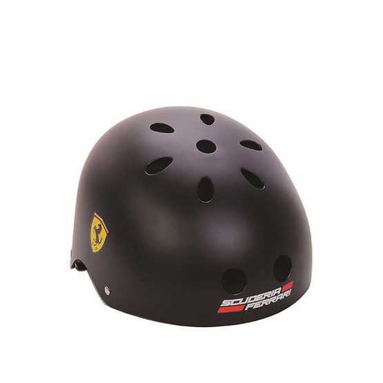 FERRARI เฟอร์รารี่ หมวกสเก็ต รุ่น FAH5 สีดำ