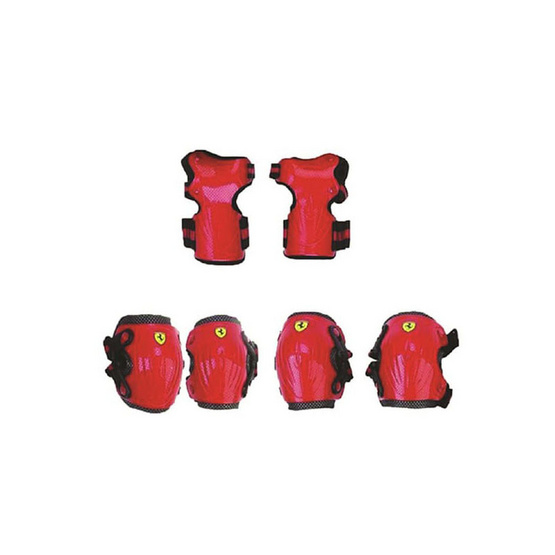 FERRARI ชุดอุปกรณ์ป้องกัน เฟอร์รารี่ รุ่น FAP16 สีแดง