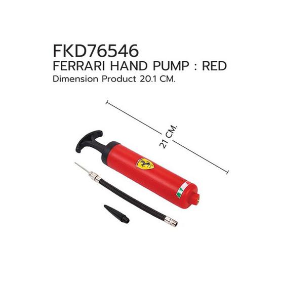 FERRARI อุปกรณ์สูบลม เฟอร์รารี่ รุ่น FKD76546 สีแดง