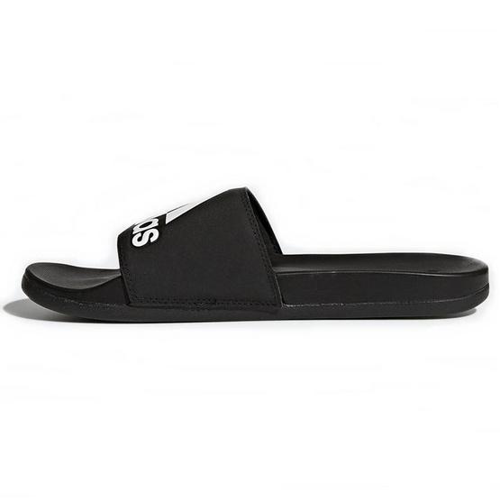 Adidas รองเท้า Adilette Cloudfoam Plus Logo Slides CG3425