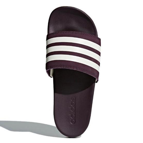 Adidas รองเท้า Adilette Cloudfoam Plus Stripes Slides AH2589
