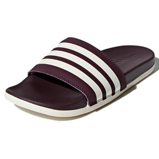 Adidas รองเท้า Adilette Cloudfoam Plus Stripes Slides AH2589