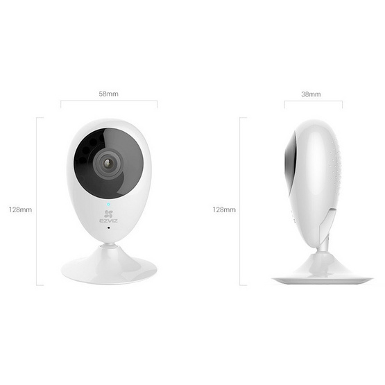 Ezviz กล้อง Ip Camera 720p รุ่น C2C